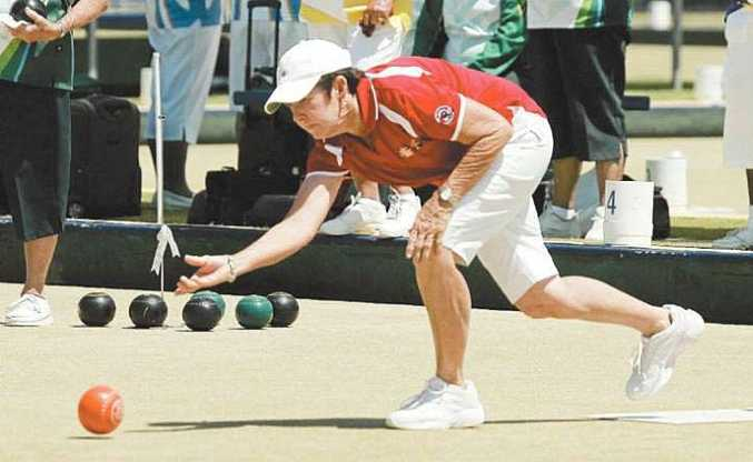 Lawn bowler Lynn Long is in the middle of a perfect season.
