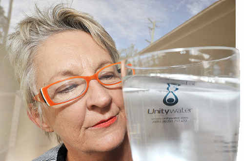Kerry Page returned from overseas to find her water bill has soared.