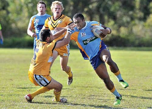 Gympie's Ratu Viravu has been a star this season.