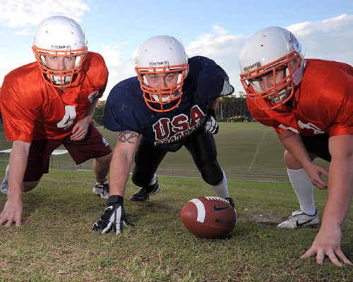 Sunshine Coast Spartans Matt Noonan, Joshua Herman, and Corey Harragon are approaching the new season with confidence.