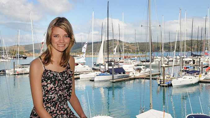 Queensland sailor Jessica Watson has been crowned as Tourism Queensland's sailing ambassador for 2010-2011. Her first duties as ambassador were at Hamilton Island this week.