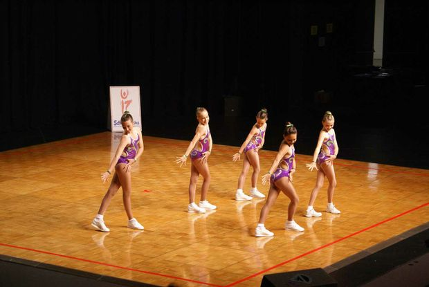 The Whitsunday Aerobics Club 'Fab Five' finished fifth at nationals on the weekend. Sheridan Jones, Brittany Moulding, Olivia Culley, Samantha Pawsey and Chelsea Nicholl.