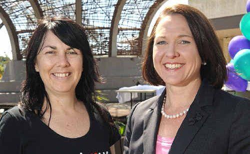 Gina Van Wezel, left, and Simone Pearce.