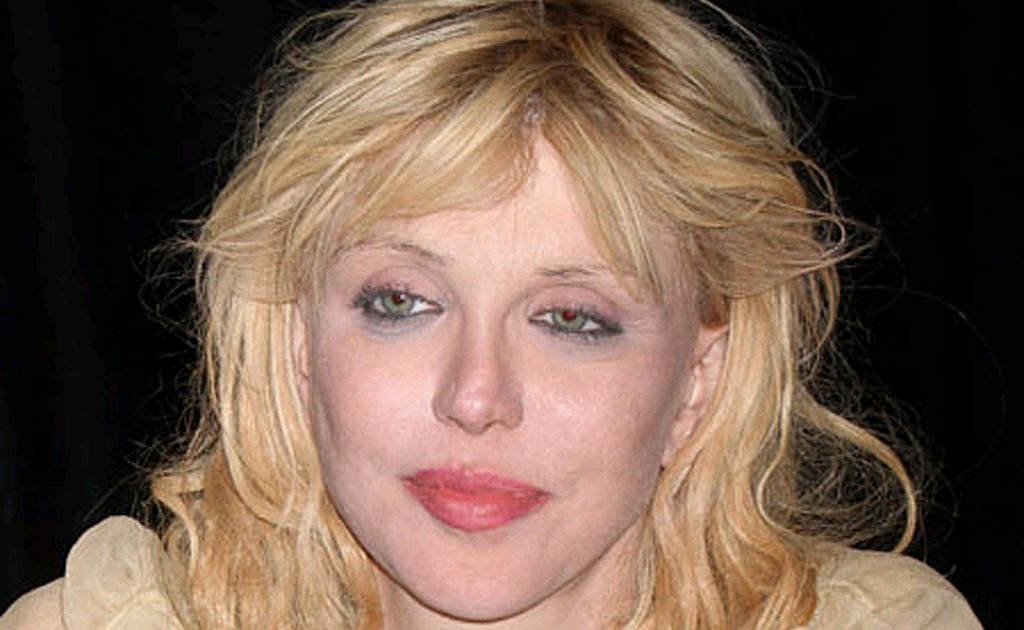 Courtney Love is mindful of her addictions.