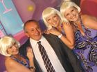 Ladies' man: Cr Joe Ramia with a bevy of beauties at the 2010 Toowoomba Business Excellence Awards.