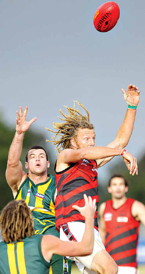 Maroochy-Northshore came off second best during their clash with Burleigh at Fisherman's Road.