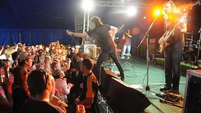 Thirst Merc perform at the Crowbar.