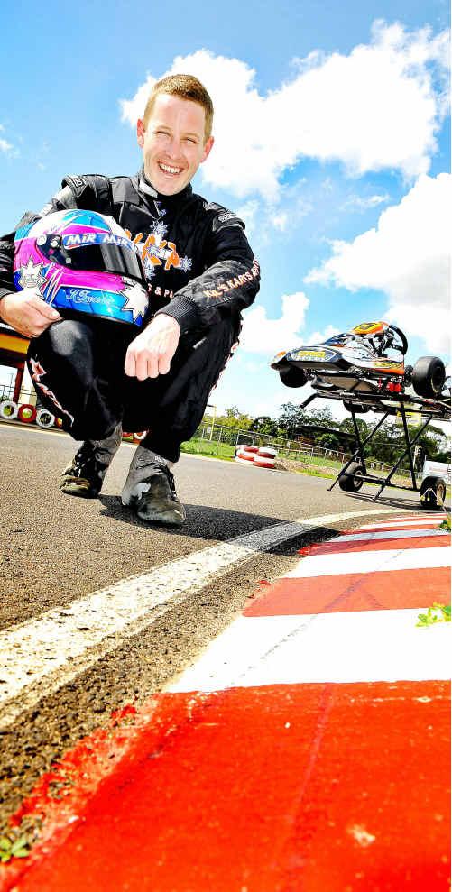Kel Treseder will race in Las Vegas.