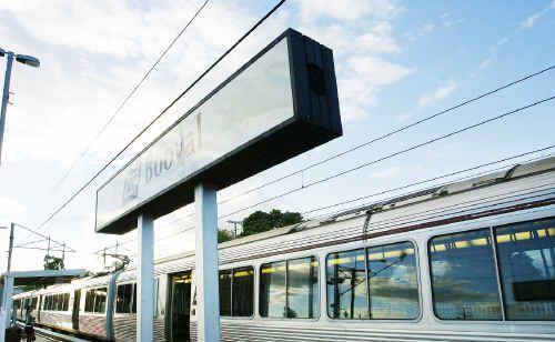 Sunshine Coast train services are back on track.