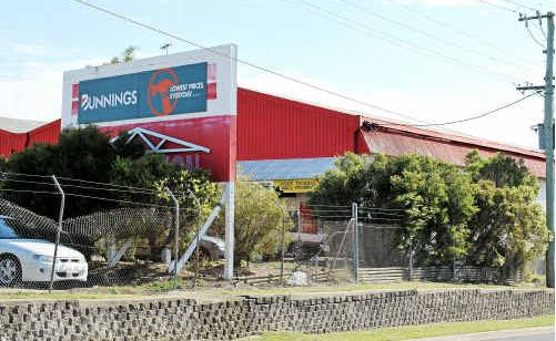 The Bunnings Manufacturing Warehouse.