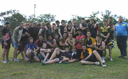 Under-15s and under-16s Calliope Roosters teams can't wait for Saturday's grand finals at Marley Brown Oval.