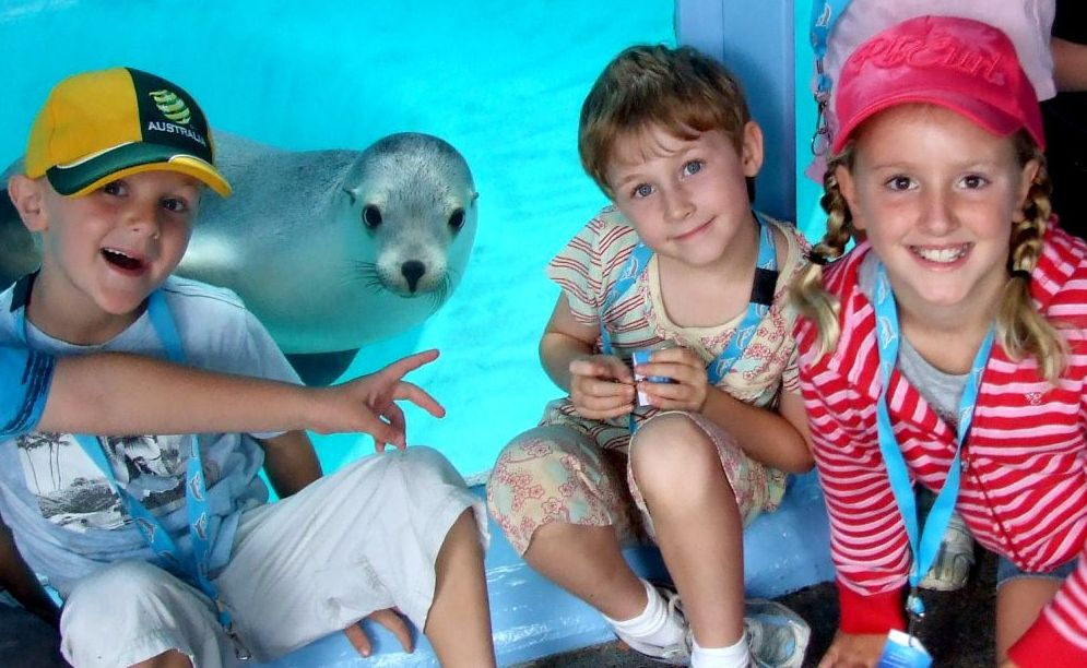 UnderWater World's Ocean Ranger holiday program is on everyday during the September school holidays.
