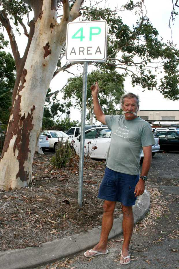 Long-term resident and boat skipper George Canfield says the new parking restrictions imposed at the Whitsunday Sailing Club will make things difficult for residents who go sailing or work in town.