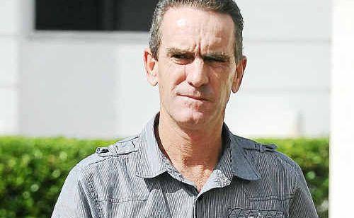 Anthony Bruce Beer outside Bundaberg Magistrates Court.