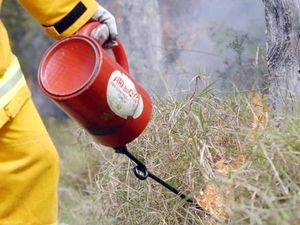 Six crews fighting Laidley fire