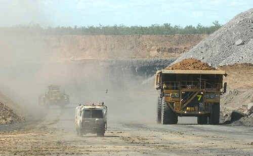 A coalminer strike threatens to hobble BHP Billiton's Bowen Basin operations.