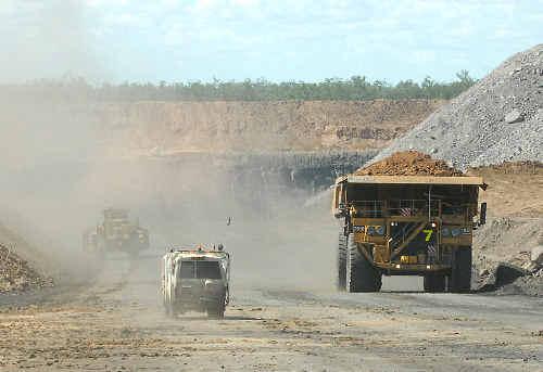A coalminer strike threatens to hobble BHP Billiton's Bowen Basin operations.