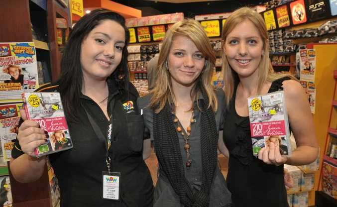 The three Jessicas - the famous one (centre) with Jessica from Wow (left) and Jessica from the Daily.