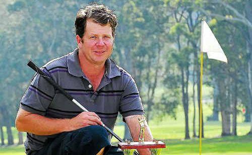 Tewantin Noosa Golf Club champion Russell Milliner.