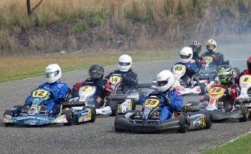 Gladstone Formula K Raceway saw plenty of Round Five Supercheap Seies action on Sunday.