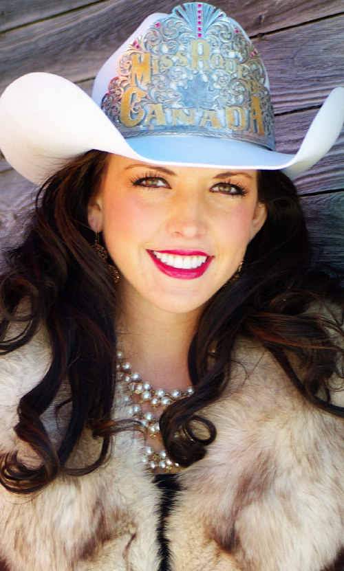 Miss Rodeo Canada, Britteny Foster is coming to Ipswich.