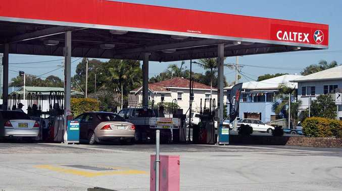 The Caltex Service Station at Brunswick Heads which nearby residents claim is the regular meeting place for dozens of young people partying to all hours of the night.