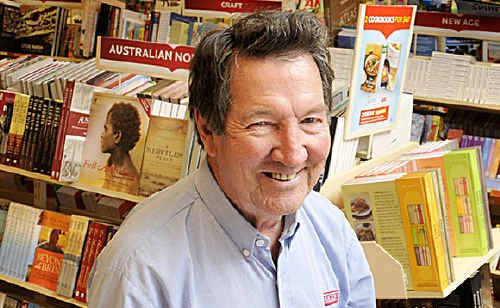 Dymocks franchise owner Ted Dobbs believes hard copy books will always play a part in the life of his customers.