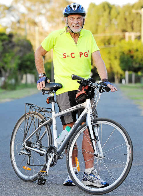Roy Fraser is upset the bike path to Bargara has little chance of starting for at least 10 years.