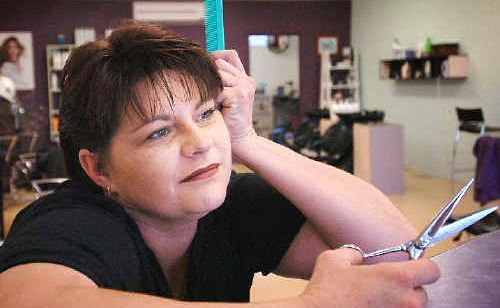 Hairdresser Alison McDonald can't find another qualified hairdresser to work in her salon.