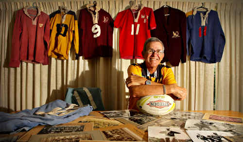 Team-of-the-century member Syd Clarke, a former Nambour All Whites captain-coach, is looking forward to being inducted into the Hall of Fame.