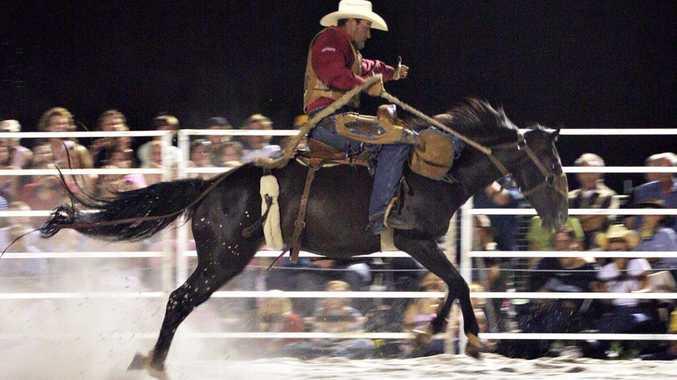 Action at a Honky Tonk Rodeo.