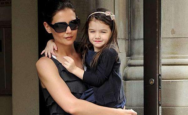 Katie Holmes and her daughter Suri.