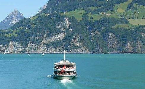 Lake Lucerne, Switzerland.