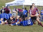 Form teams fight for rugby title