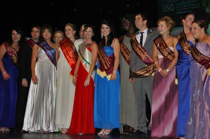 The 2010 Toowoomba Carnival of Flowers Young Ambassador Awards.