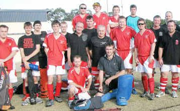 Two teams from Colts, Clydesdales and Stallions, contested the Maryborough District Hockey Association Division II men's grand final. Clydesdales won 3-2.