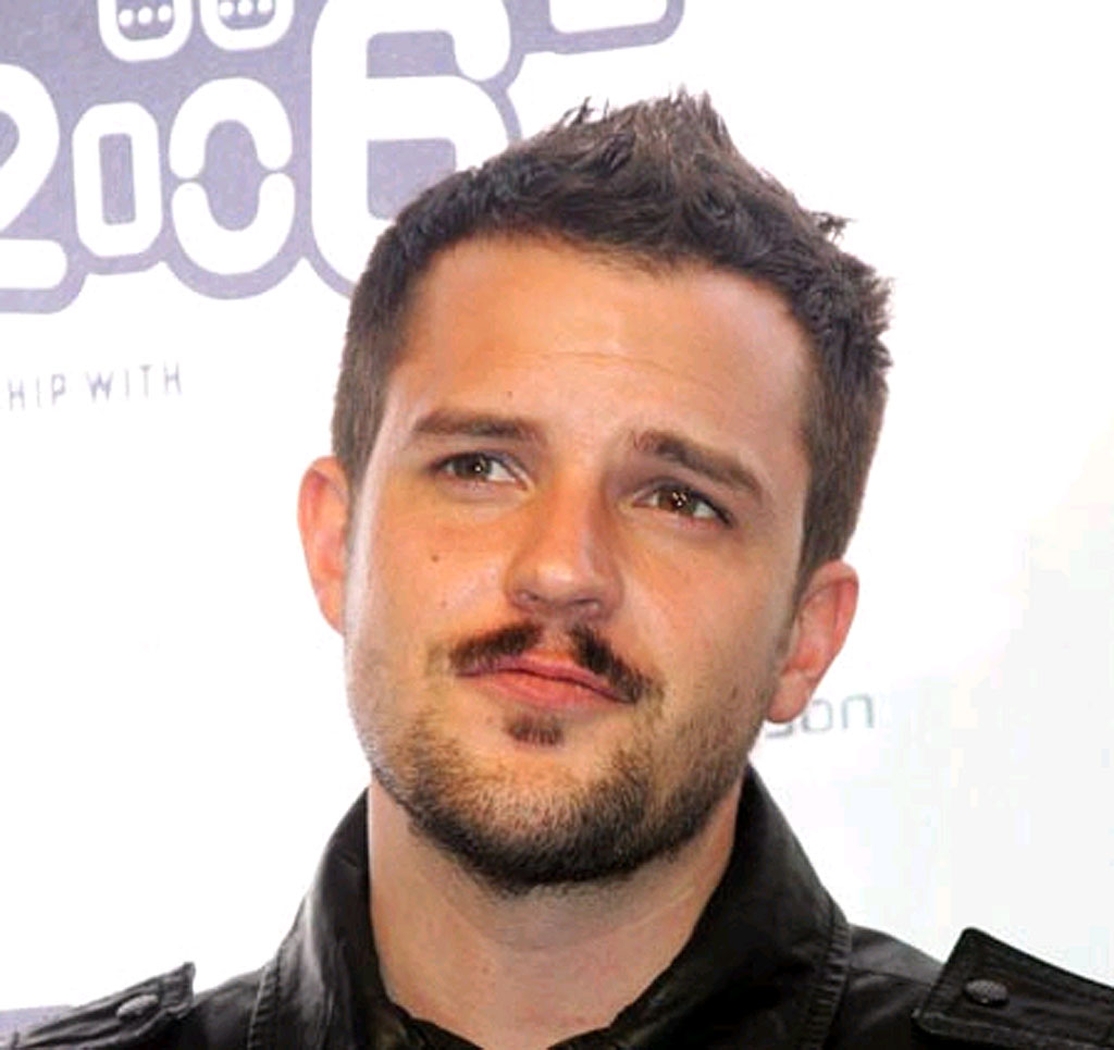 Brandon Flowers from The Killers.