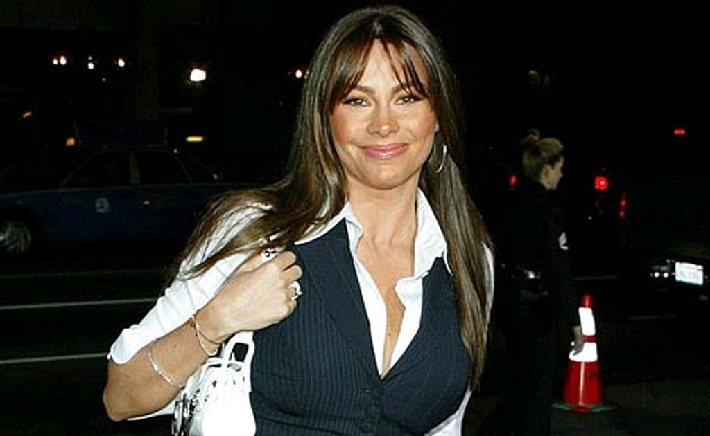 Although she is now happy with her large breasts, Sofia Vergara accepts her stunning looks and figure limit her career options.