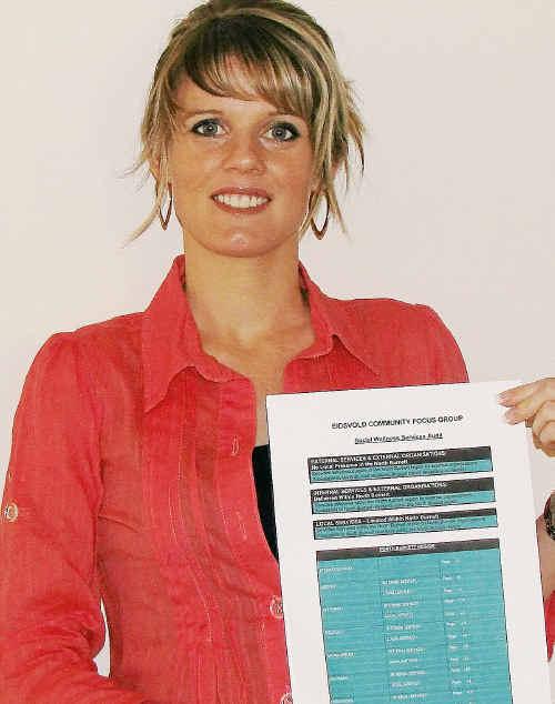 BIEDO's Lisa Jensen has been dedicated to the North Burnett Social Wellness Services Audit.