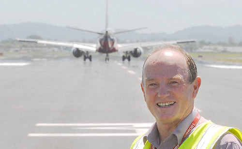 Mackay Airport general manager Terry Simpson said there is timeframe for the construction of an airport hotel.