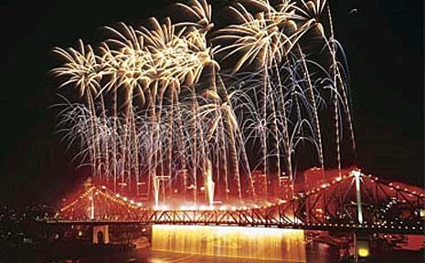 Riverfire, a Brisbane Festival event.
