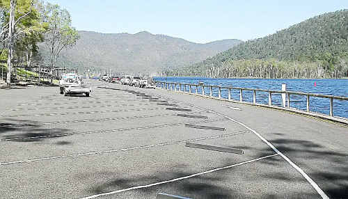 Facilities at Borumba Dam, including the boat ramp and car park, have been upgraded to cope with increased visitor numbers.