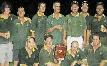 Wests won the Robertson Brothers Shield last year and hope to defend their title this season.