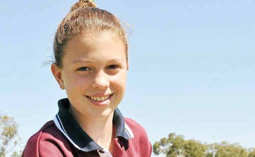 Yaralla Sports Star of the Week Meteors Hockey player Lindsay Mathison.