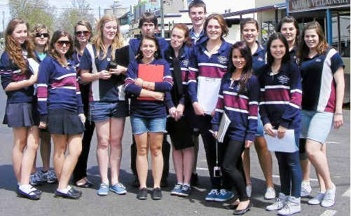 Exploring: Robina State High School Year 12 geography students explore Allora.