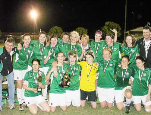 Moore Park Women have claimed the premiership in their first year of division one competition.