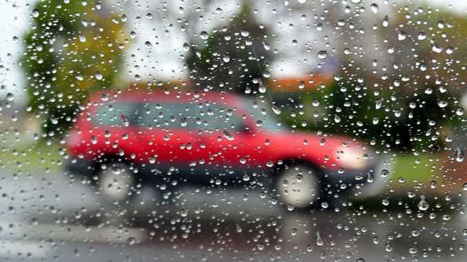 Rain can impair visibility when driving.