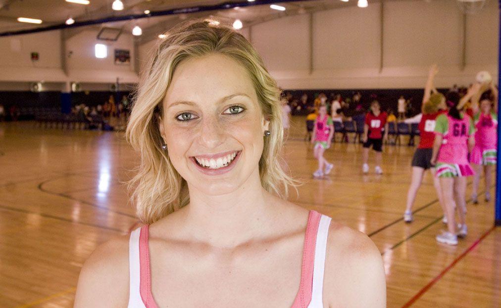Allora's Australian netball representative Laura Geitz.