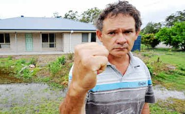Leo Chaplin is angry after Coral Coast Homes director John Biles was given an $85,000 fine for breaching the Fair Trading Act.