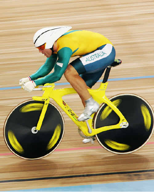 Shane Kelly, competing for Australia at the 2004 Athens Olympics, is the official ambassador for the Bundaberg Cup, to be staged in December.